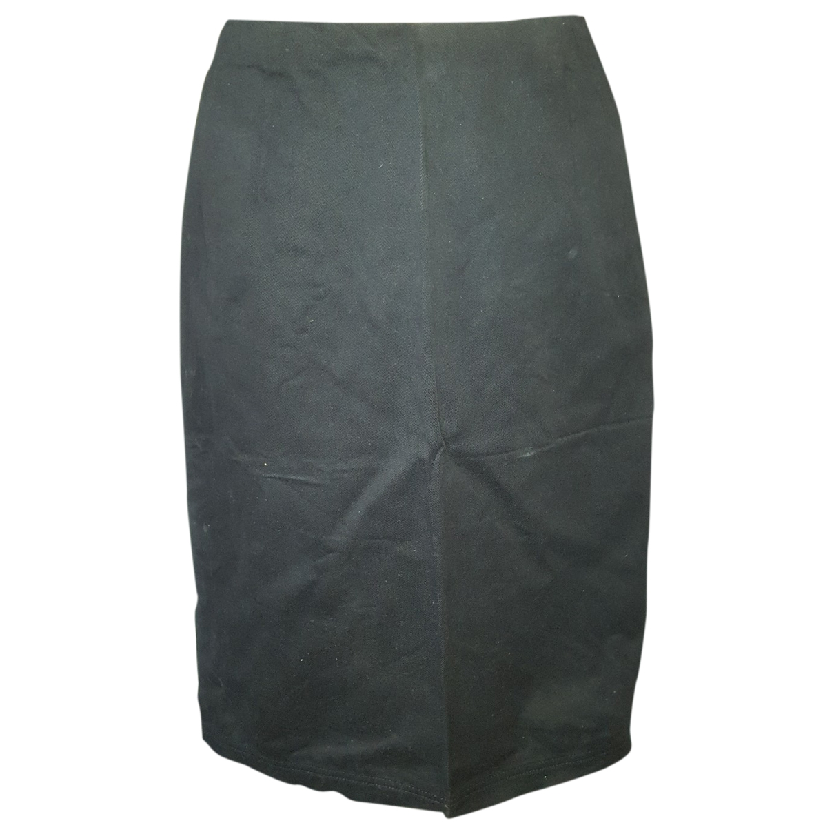 Prada \N Black Cotton - elasthane skirt for Women 40 IT
