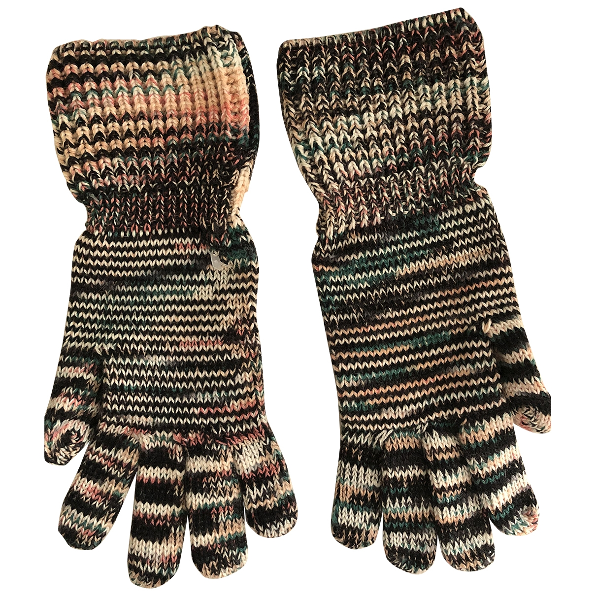 Missoni \N Handschuhe in  Bunt Wolle