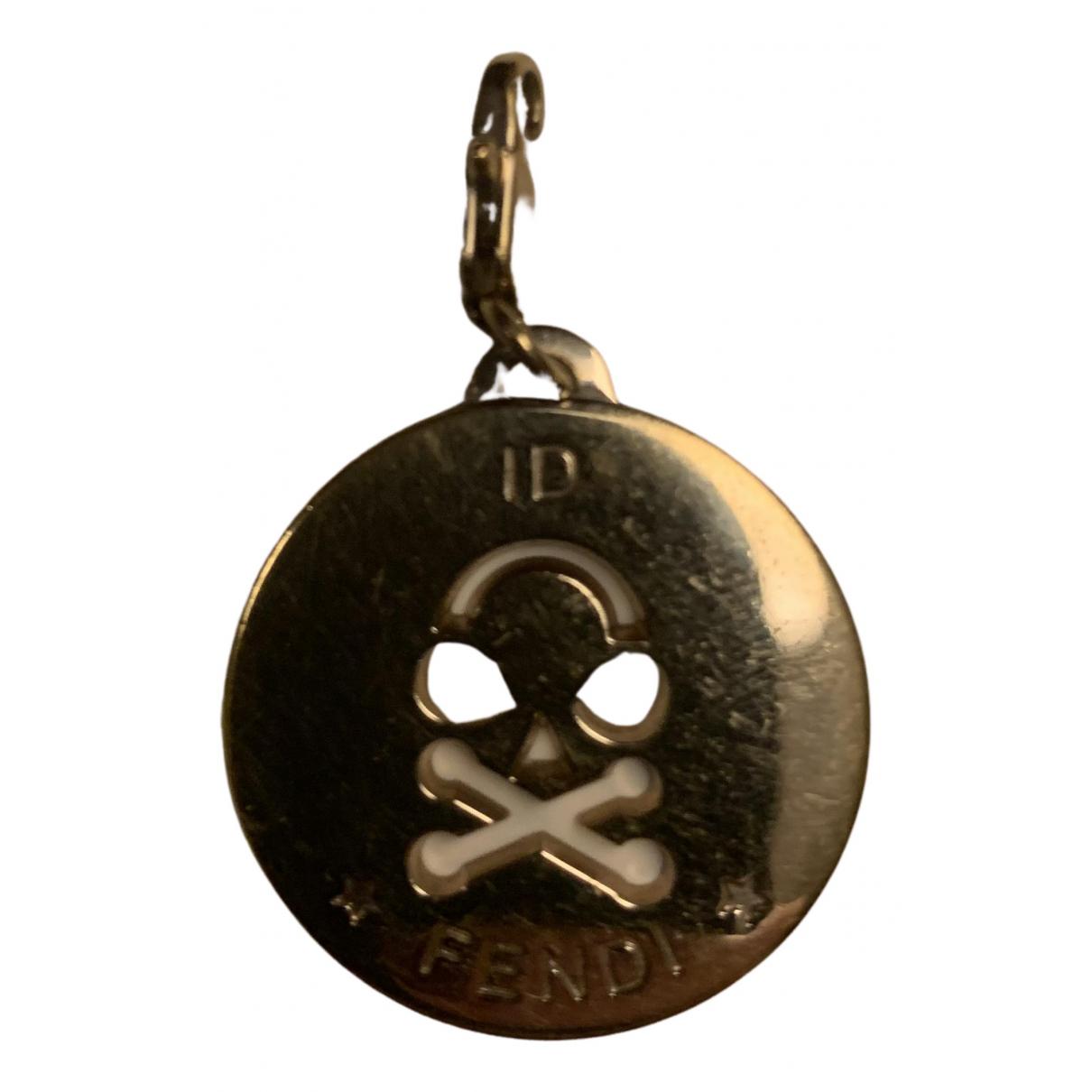 Fendi - Pendentif   pour femme en metal - dore