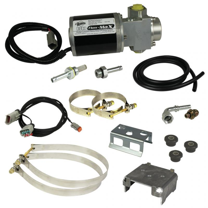 BD Diesel 1050312D BD Flow-MaX Fuel Lift Pump - Dodge 2013-2018 6.7L Ram 2013-2018 6.7L 6-Cyl