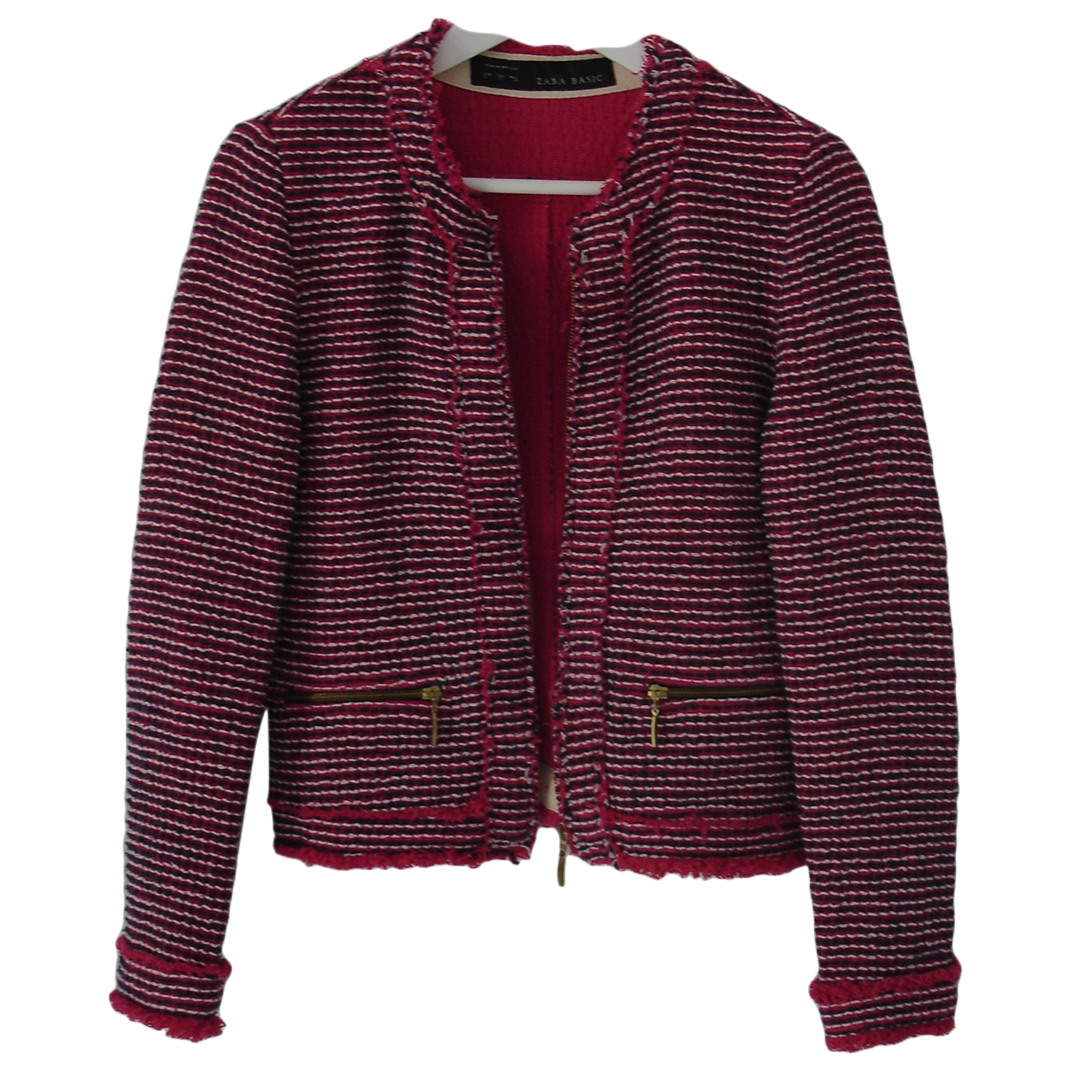 Zara \N Pink Cotton coat for Women S International