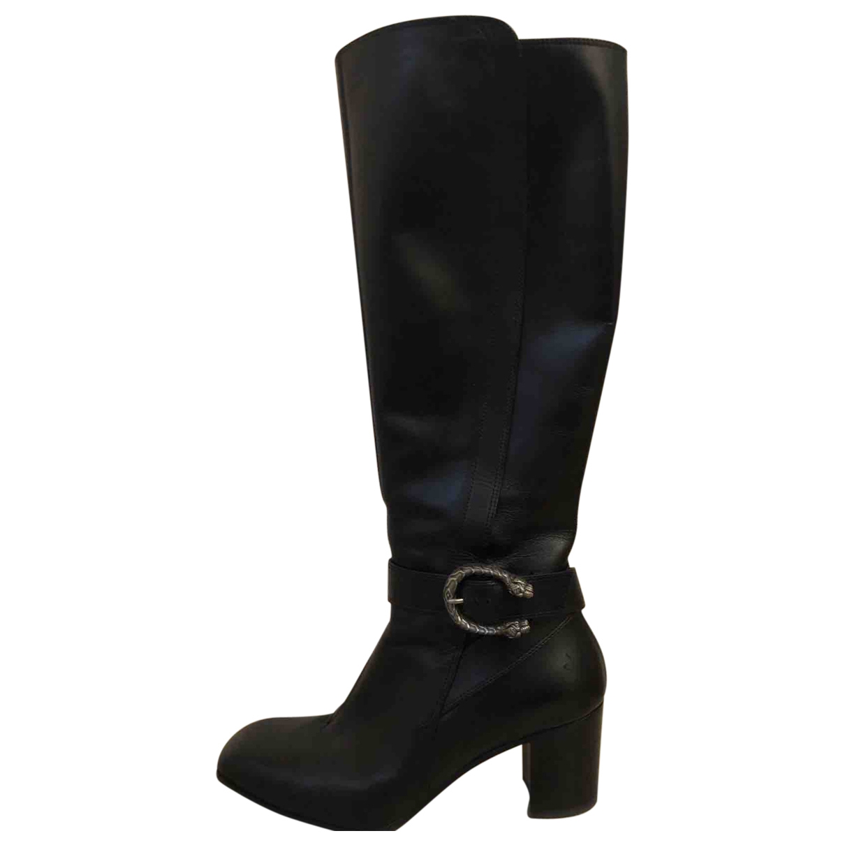 Gucci - Bottes Dionysus pour femme en cuir - noir