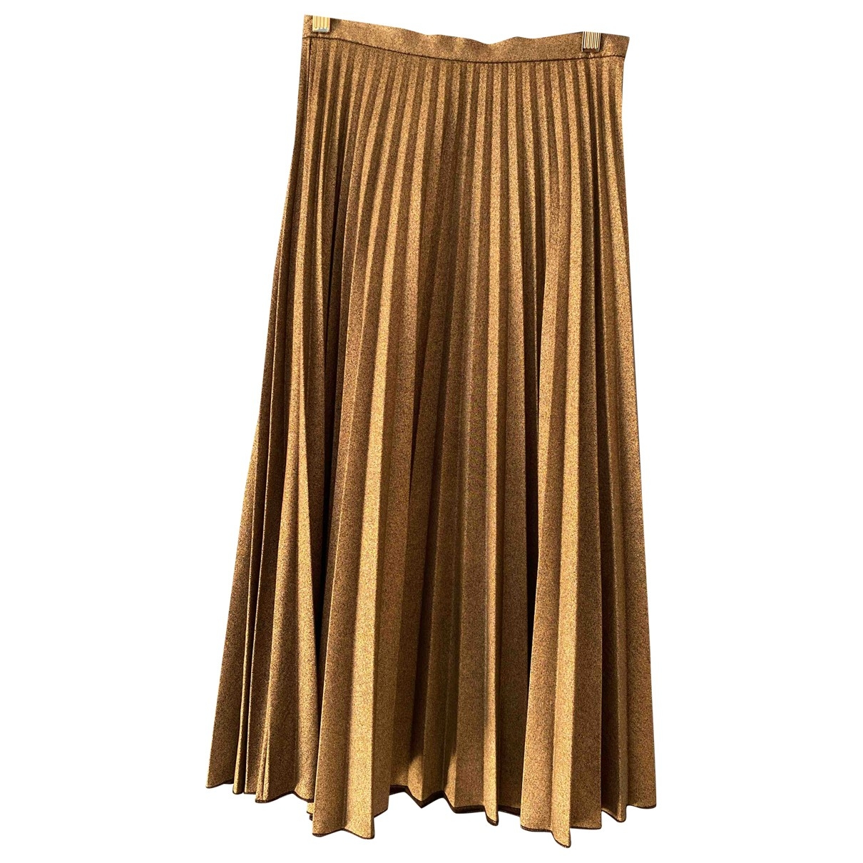 Non Signé / Unsigned \N Silver skirt for Women XS International