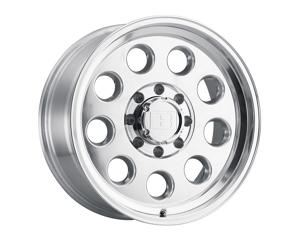 Level 8 Hauler Wheel 16x8.5 8x165.1 -6mm Polished