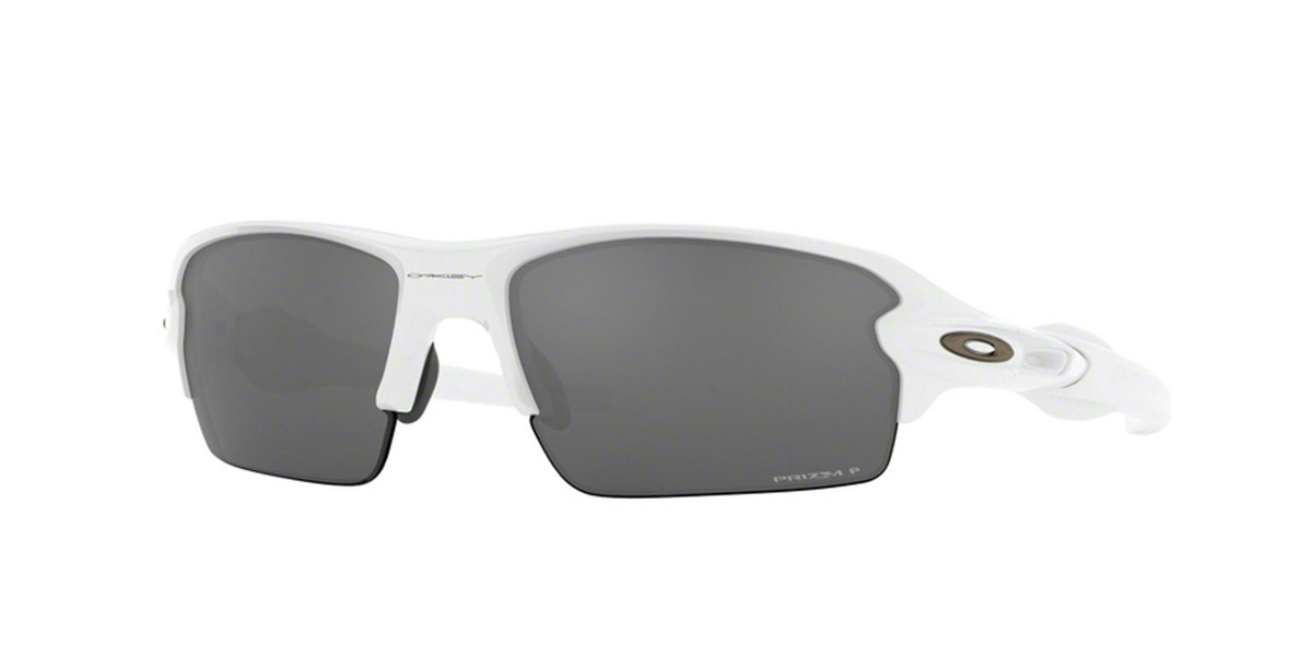 Oakley OO9271 FLAK 2.0 Asian Fit Polarized 927124 Men's Sunglasses White Size 61