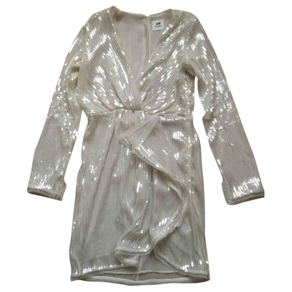 Autre Marque \N Kleid in  Weiss Polyester