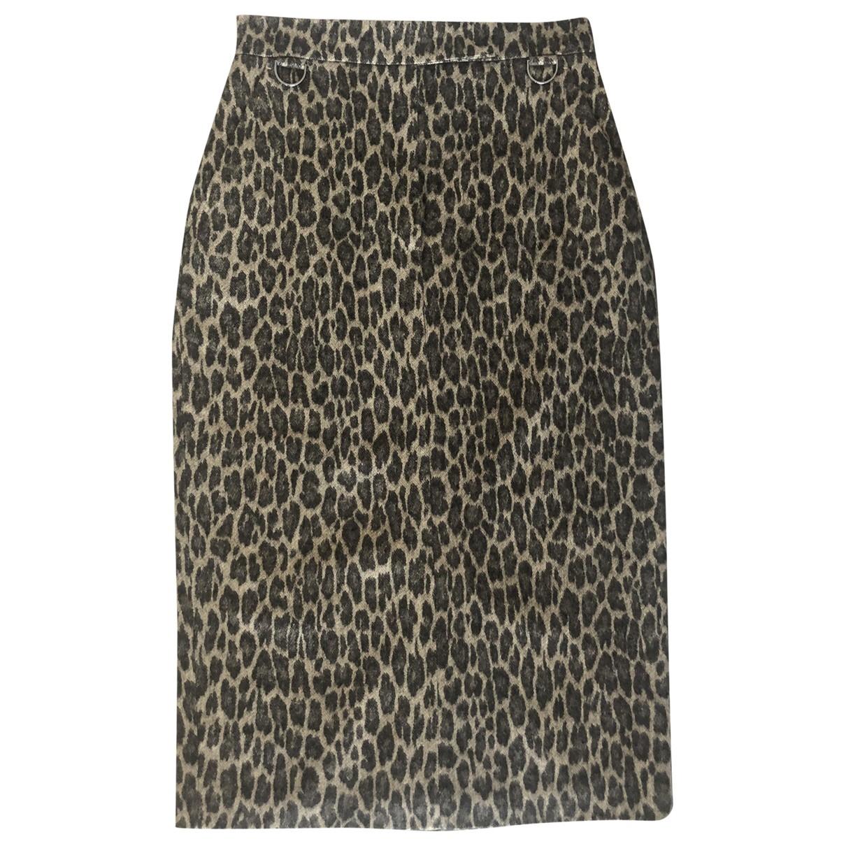 Max Mara \N Beige Wool skirt for Women 40 IT