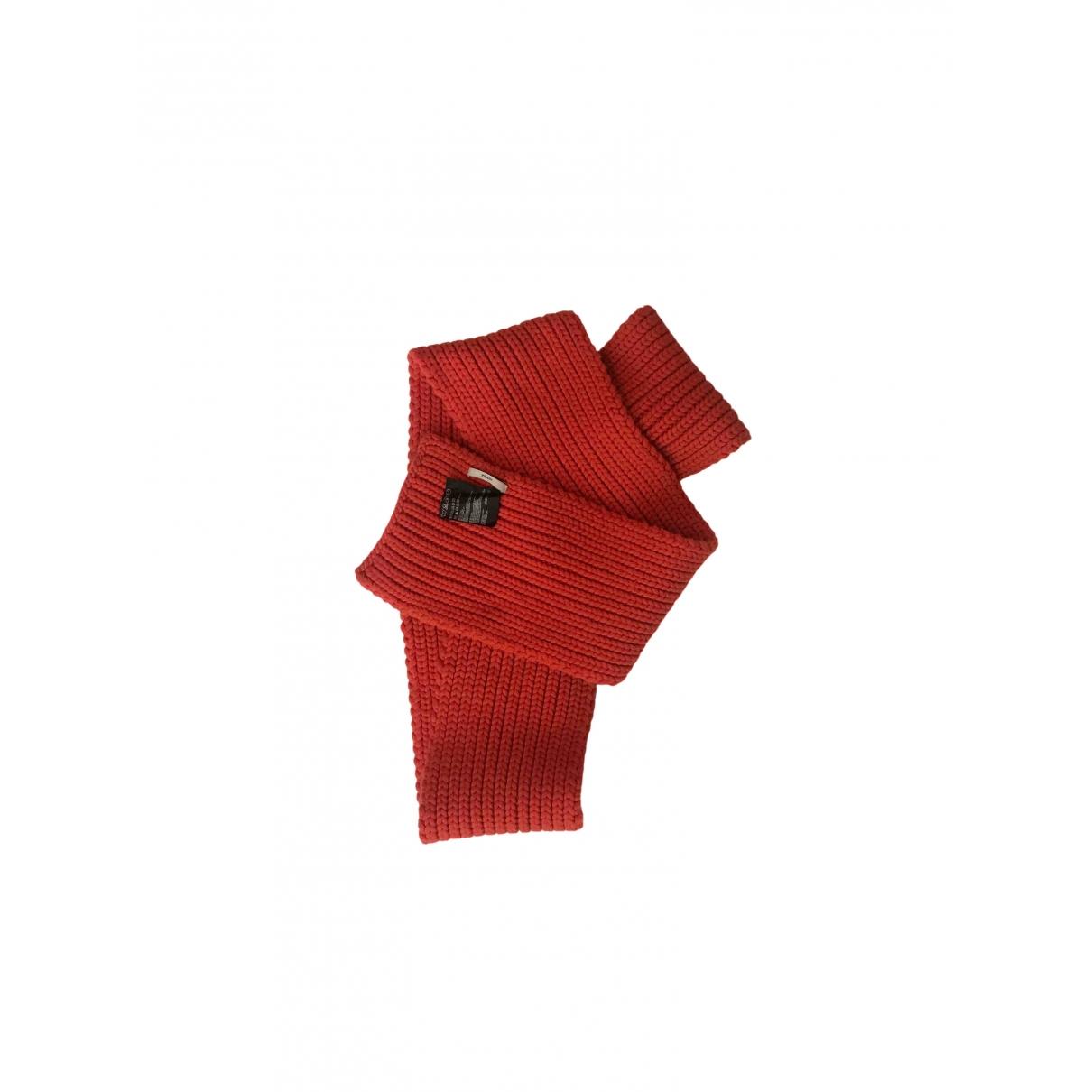 Prada \N Orange Cashmere scarf for Women \N