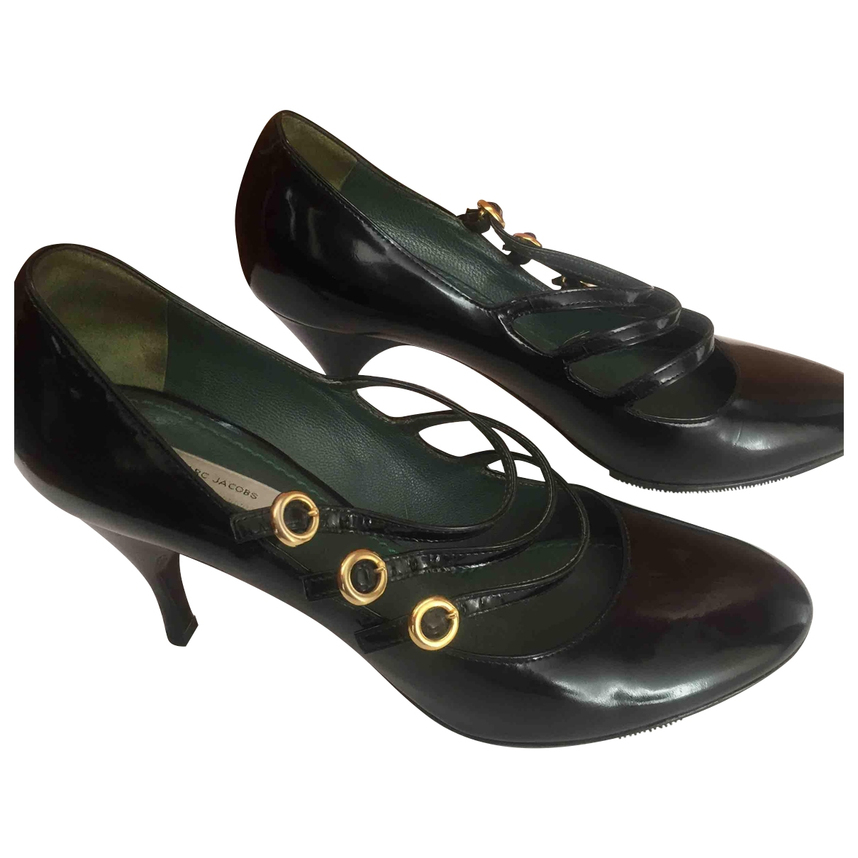 Marc Jacobs \N Black Patent leather Heels for Women 38 EU