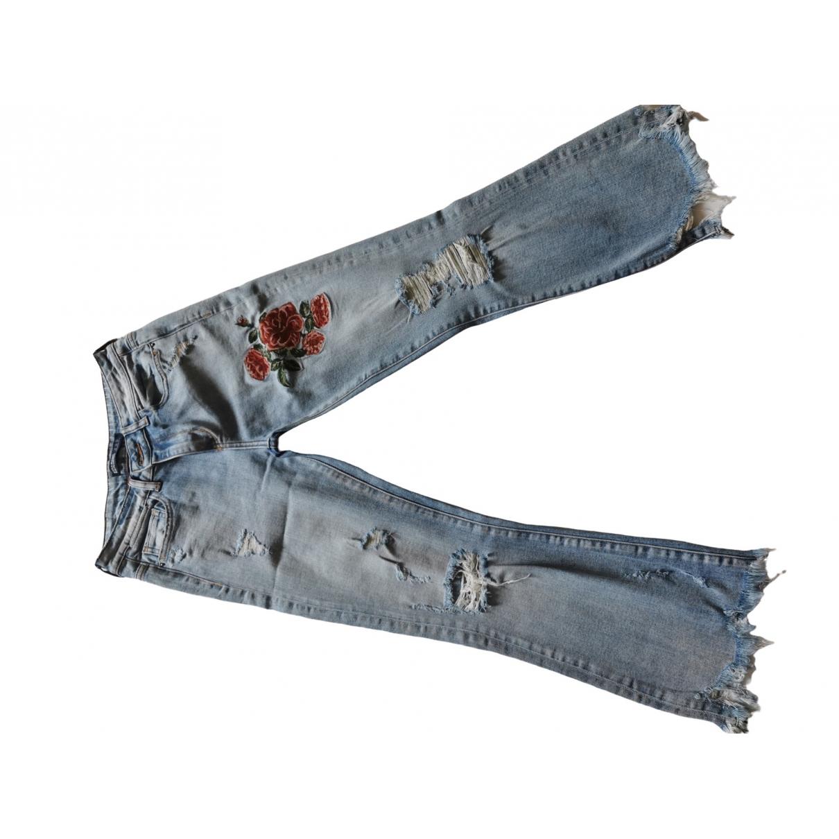 Pantalon recto Zara
