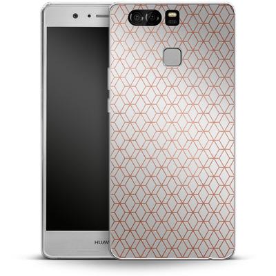 Huawei P9 Silikon Handyhuelle - Morning Pattern von #basic