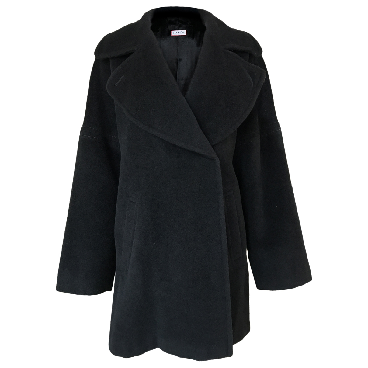 Max & Co \N Maentel in  Schwarz Wolle
