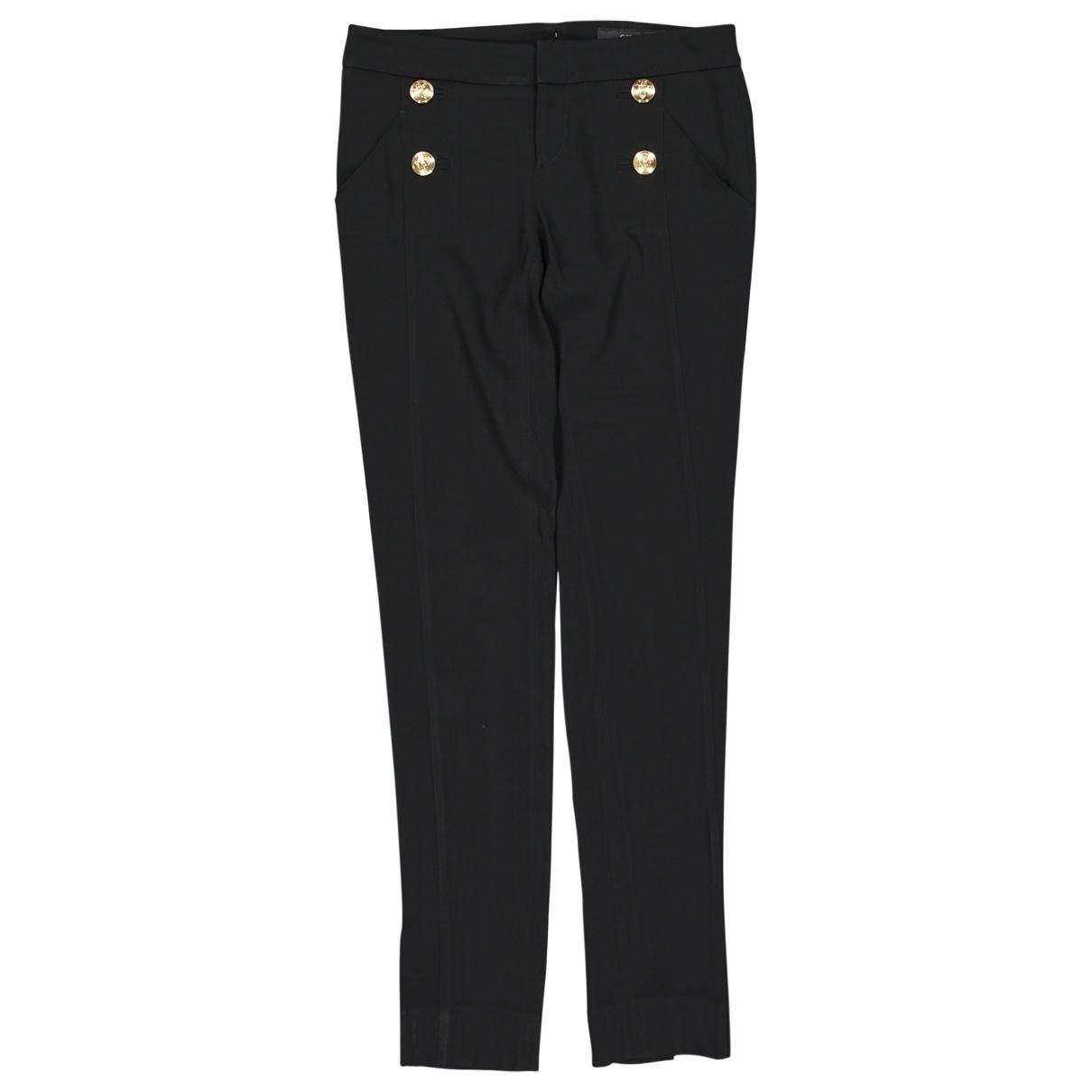 Gucci \N Black Trousers for Women 38 IT