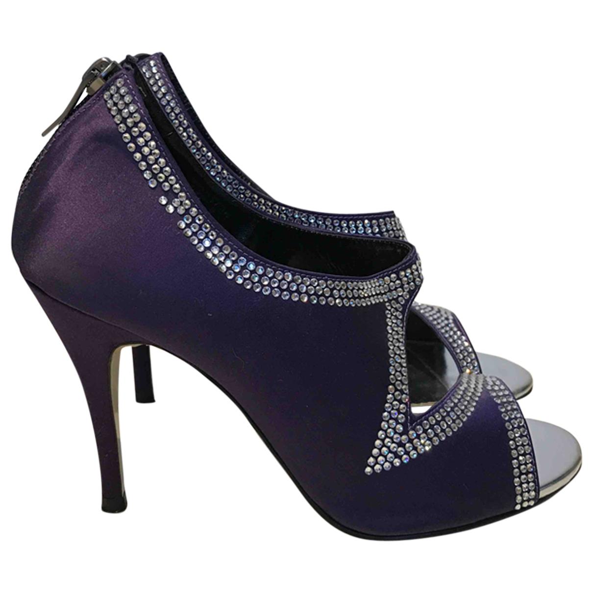 Suecomma Bonnie - Escarpins   pour femme en a paillettes - violet