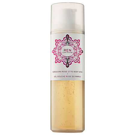 REN Moroccan Rose Otto Body Wash, One Size , No Color Family