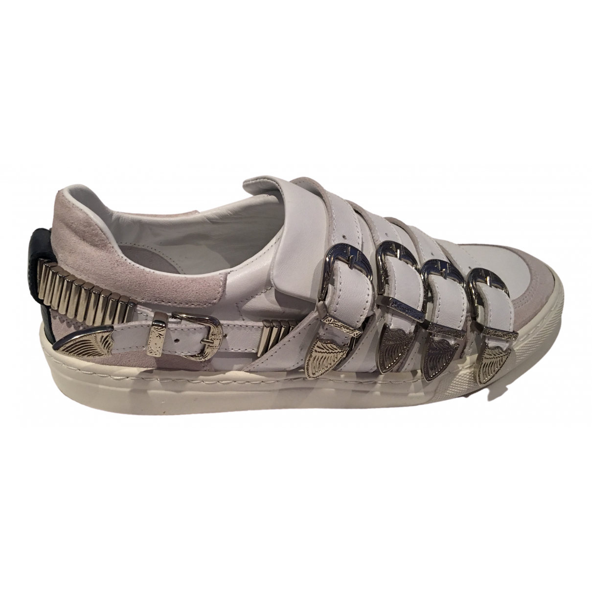 Toga Archives \N White Leather Trainers for Women 40 EU