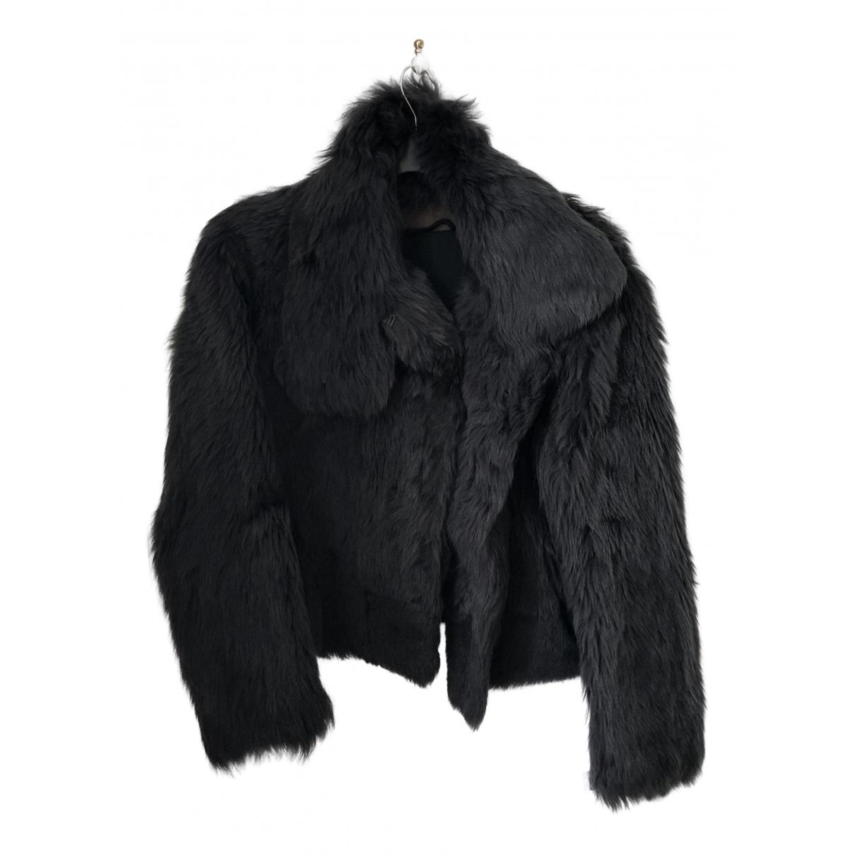 Balenciaga - Manteau   pour femme en mouton - gris