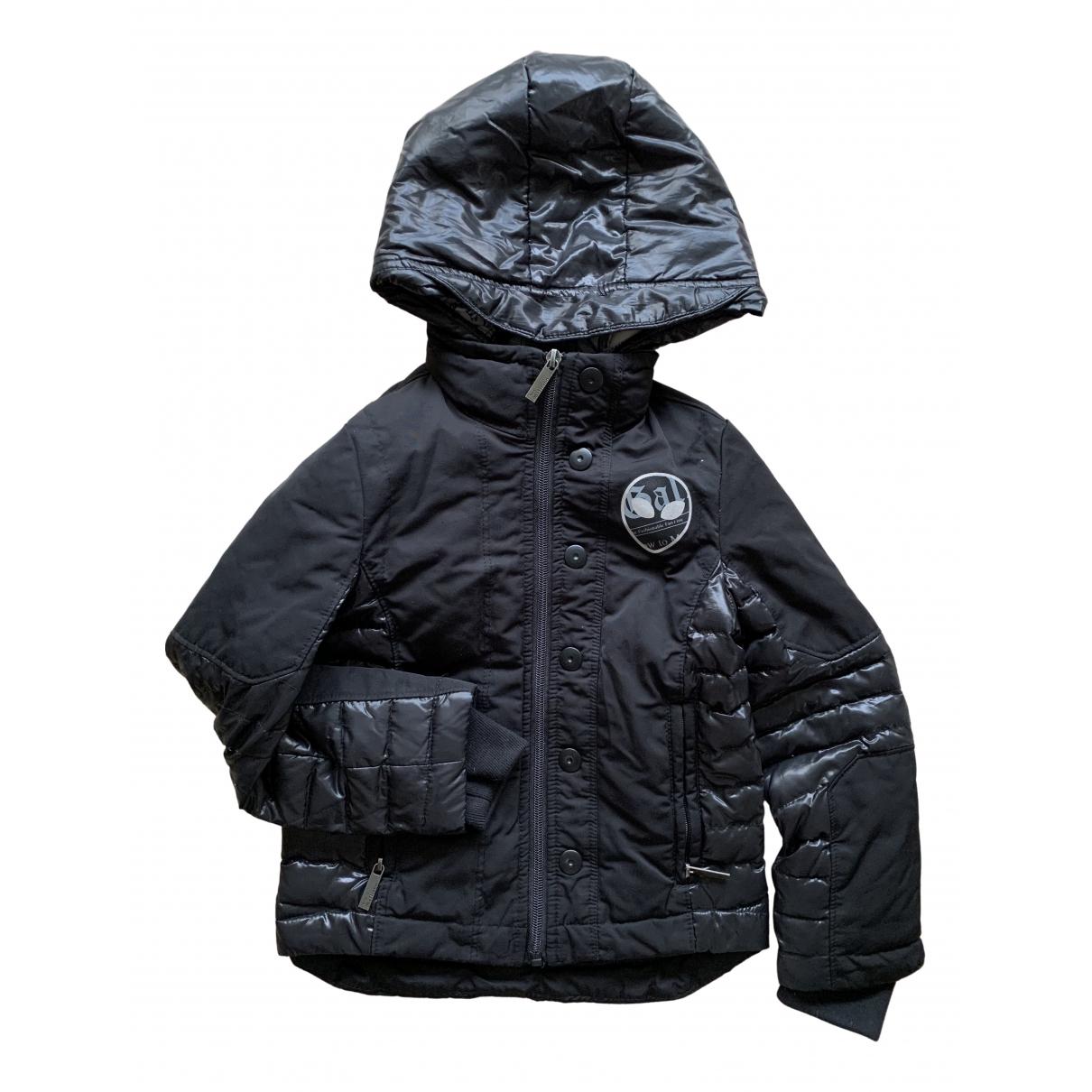 Galliano - Blousons.Manteaux   pour enfant - noir
