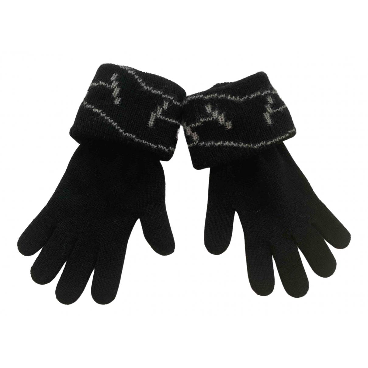 Hermes - Gants   pour femme en cachemire - noir