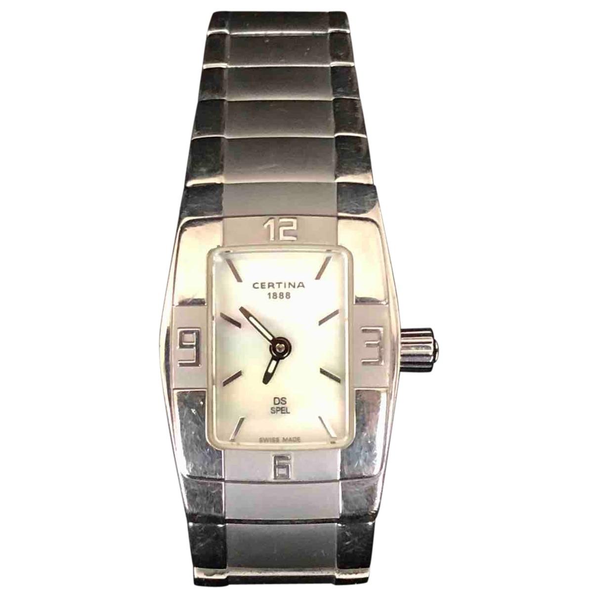 Certina \N Uhr in  Silber Stahl