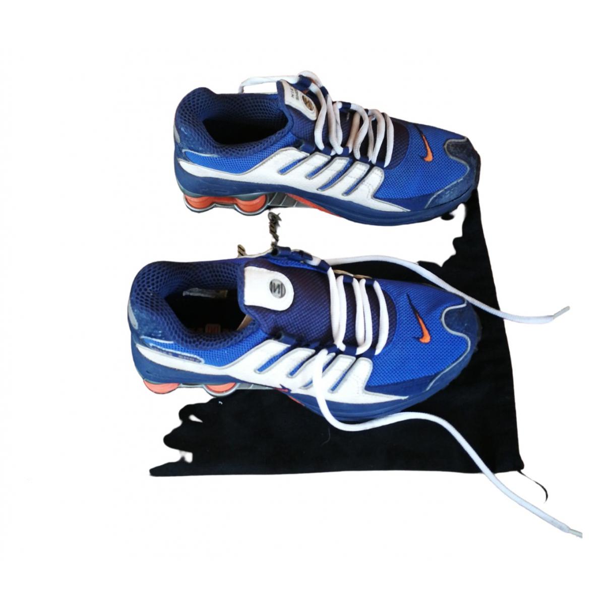 Nike Shox Sneakers in  Bunt Kunststoff