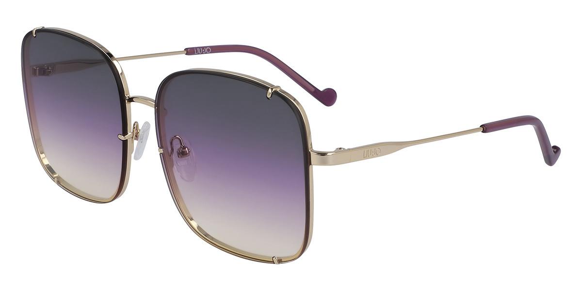 Liu Jo LJ138S 717 Women's Sunglasses Gold Size 58