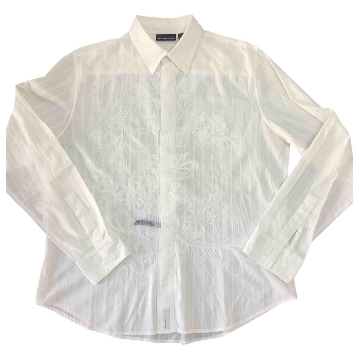 Dkny \N Hemden in  Weiss Baumwolle