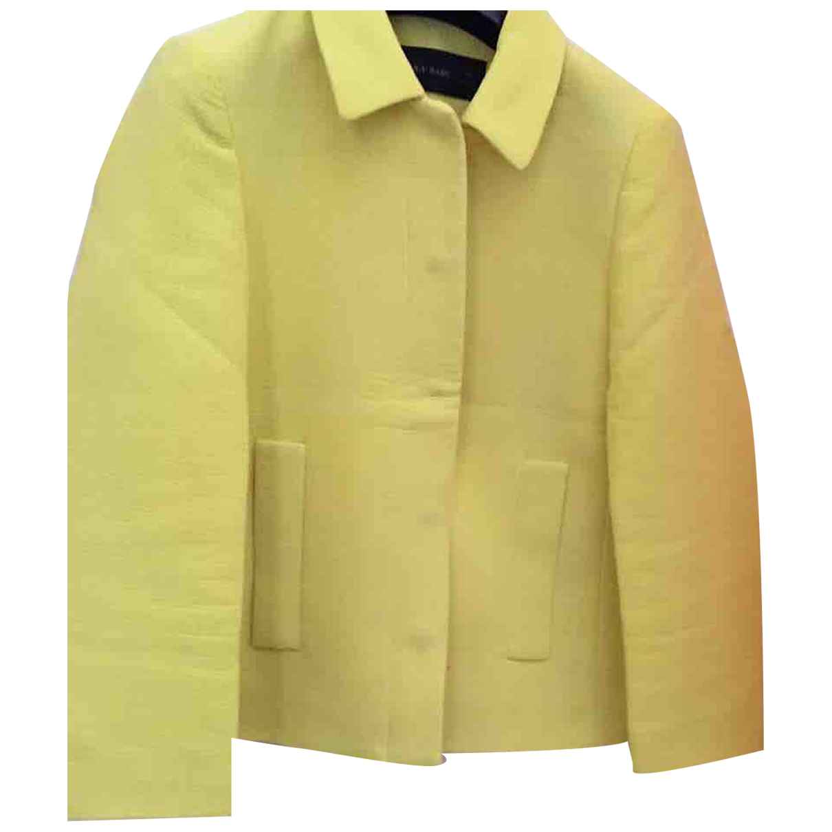 Zara \N Jacke in  Gelb Polyester