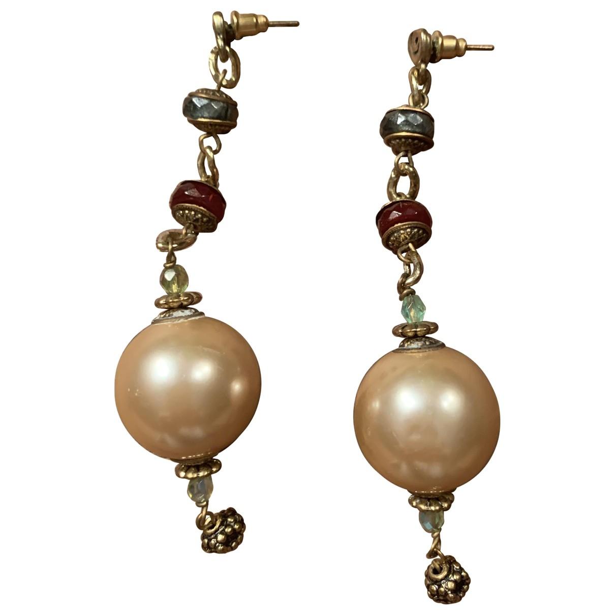 - Boucles doreilles   pour femme en perle