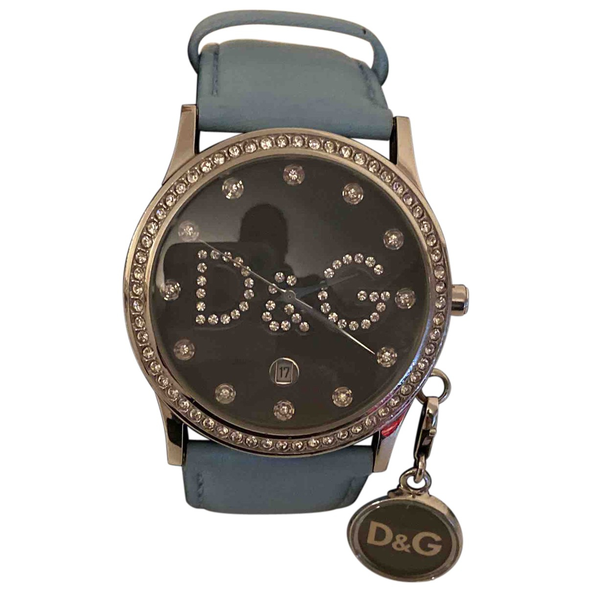 D&g N Turquoise Steel watch for Women N