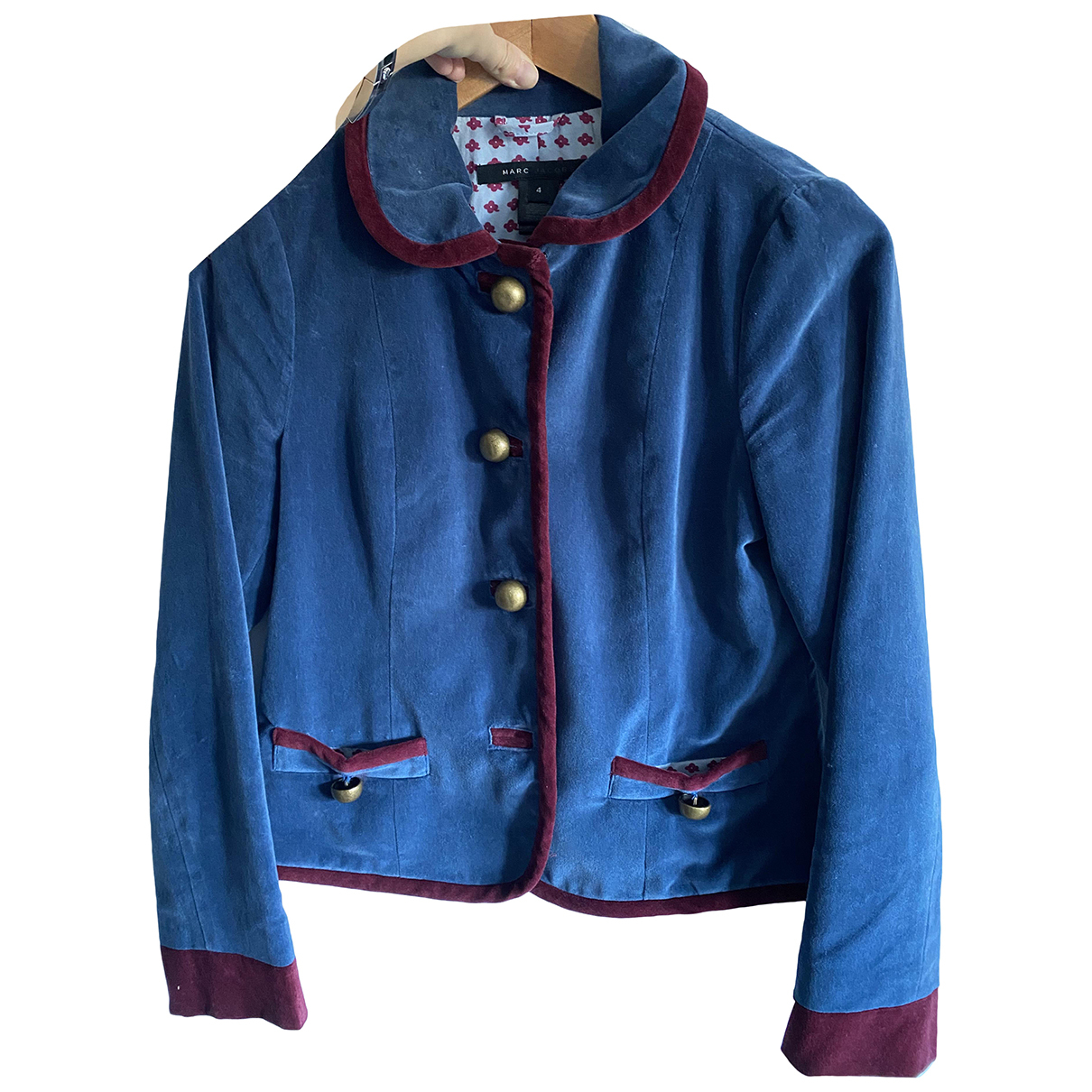 Marc Jacobs \N Jacke in  Blau Samt