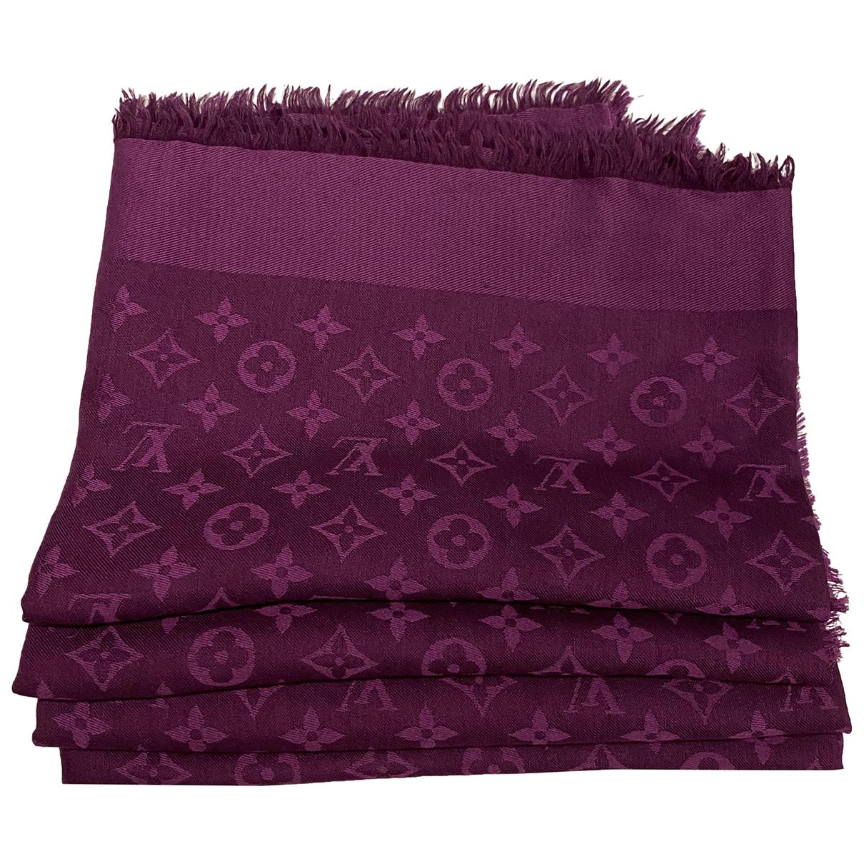Bufanda Chale Monogram de Seda Louis Vuitton