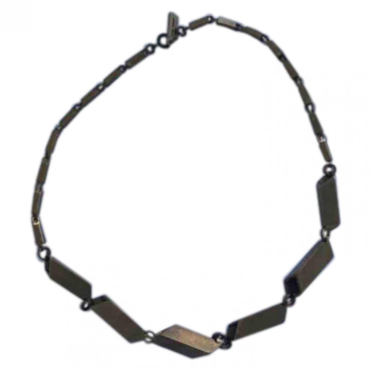 Isabel Marant \N Khaki Metal necklace for Women \N