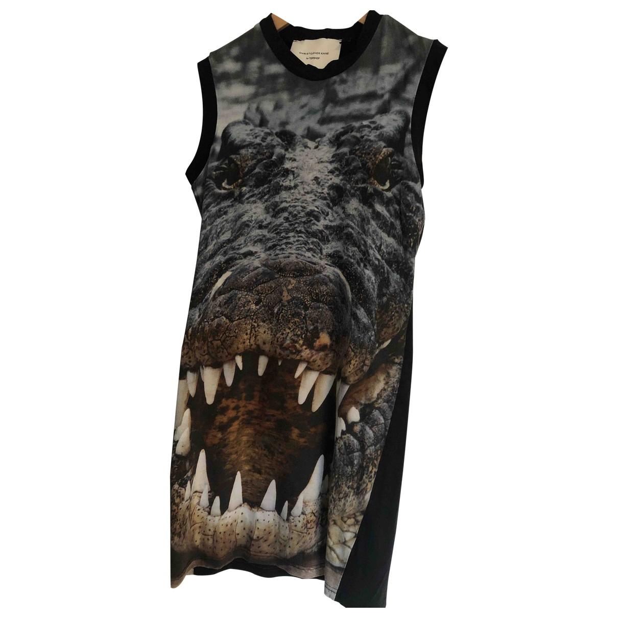 Topshop Boutique - Robe   pour femme en coton - noir