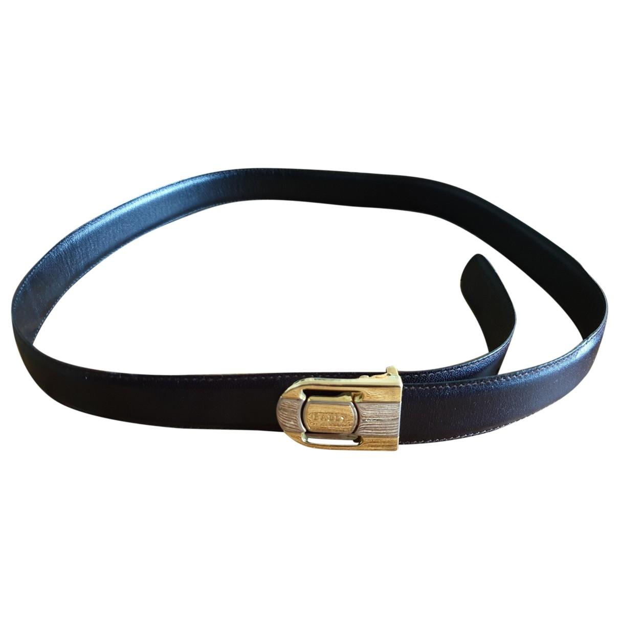 Bally \N Brown Leather belt for Men M international