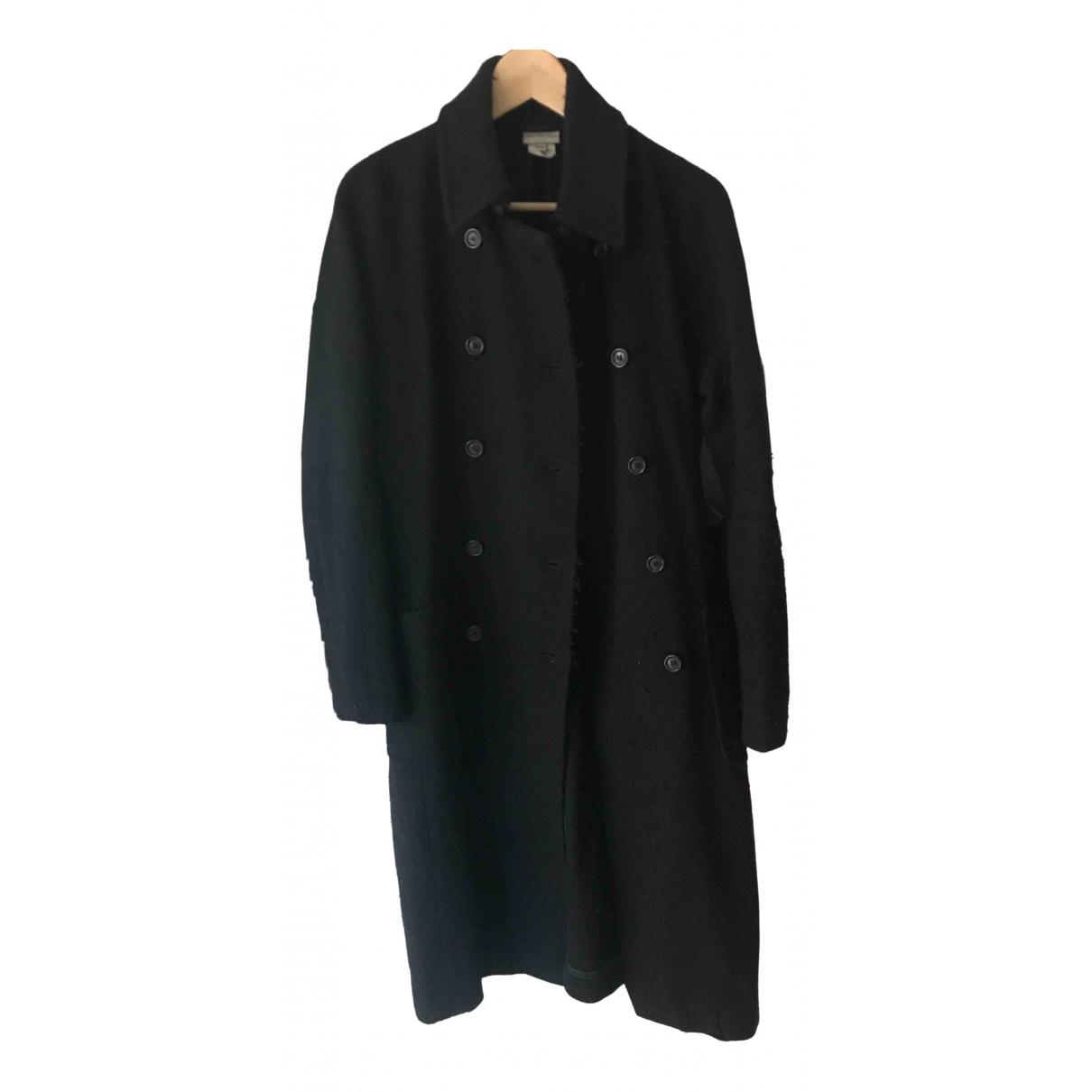 Dries Van Noten - Manteau   pour femme en laine - noir