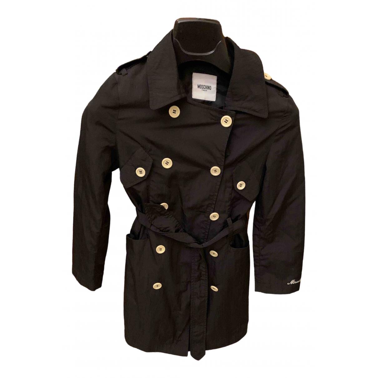 Moschino - Blousons.Manteaux   pour enfant - noir