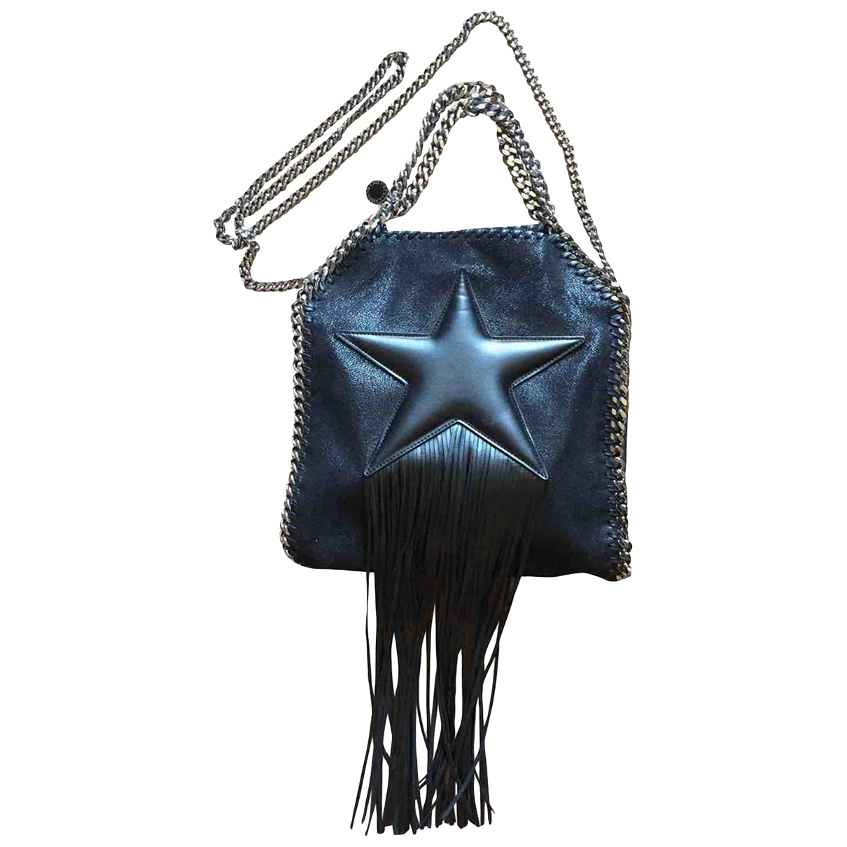 Stella Mccartney Falabella Black Cloth handbag for Women \N