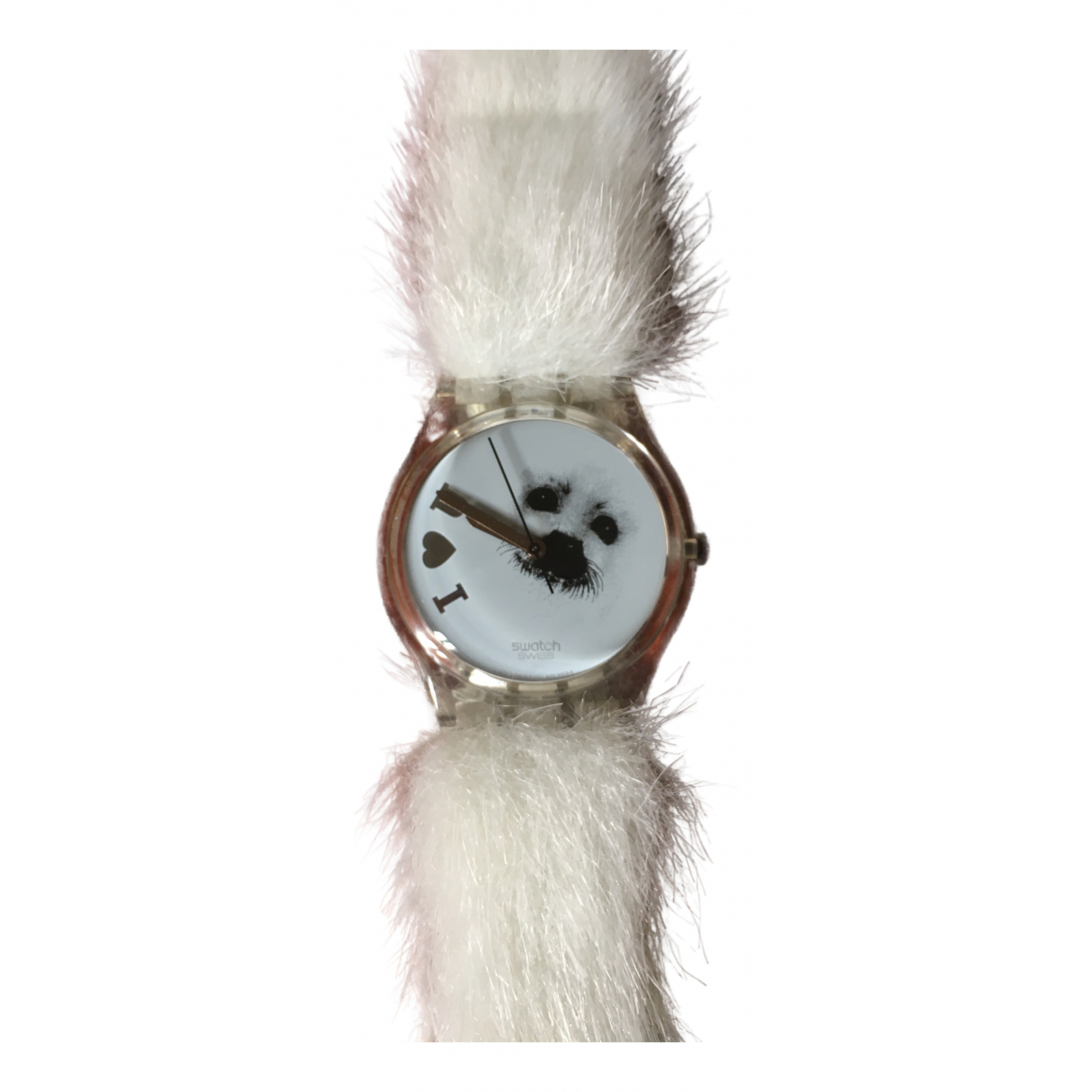 Swatch N White watch for Women N