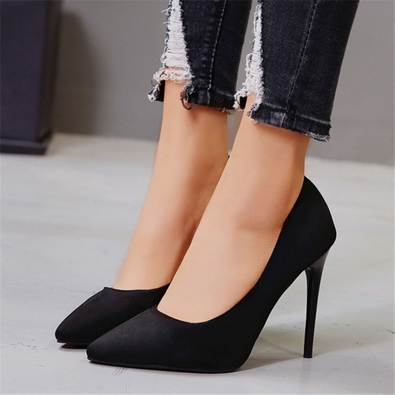 Ericdress Thread Slip-On Pointed Toe Plain Thin Shoes