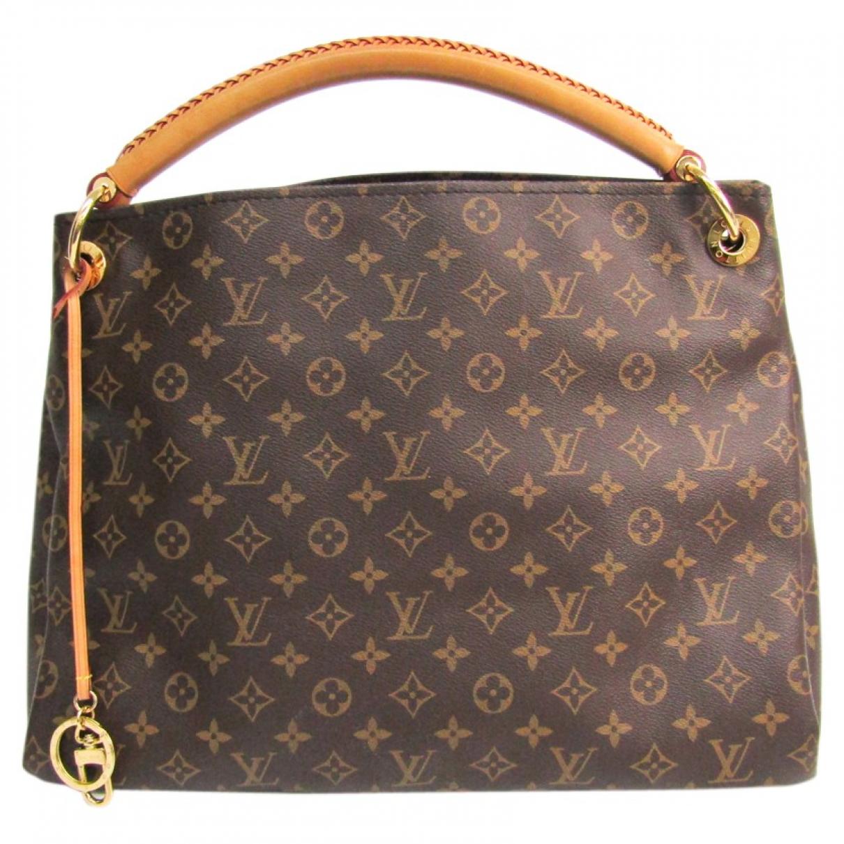 Louis Vuitton Artsy Brown Cloth handbag for Women N