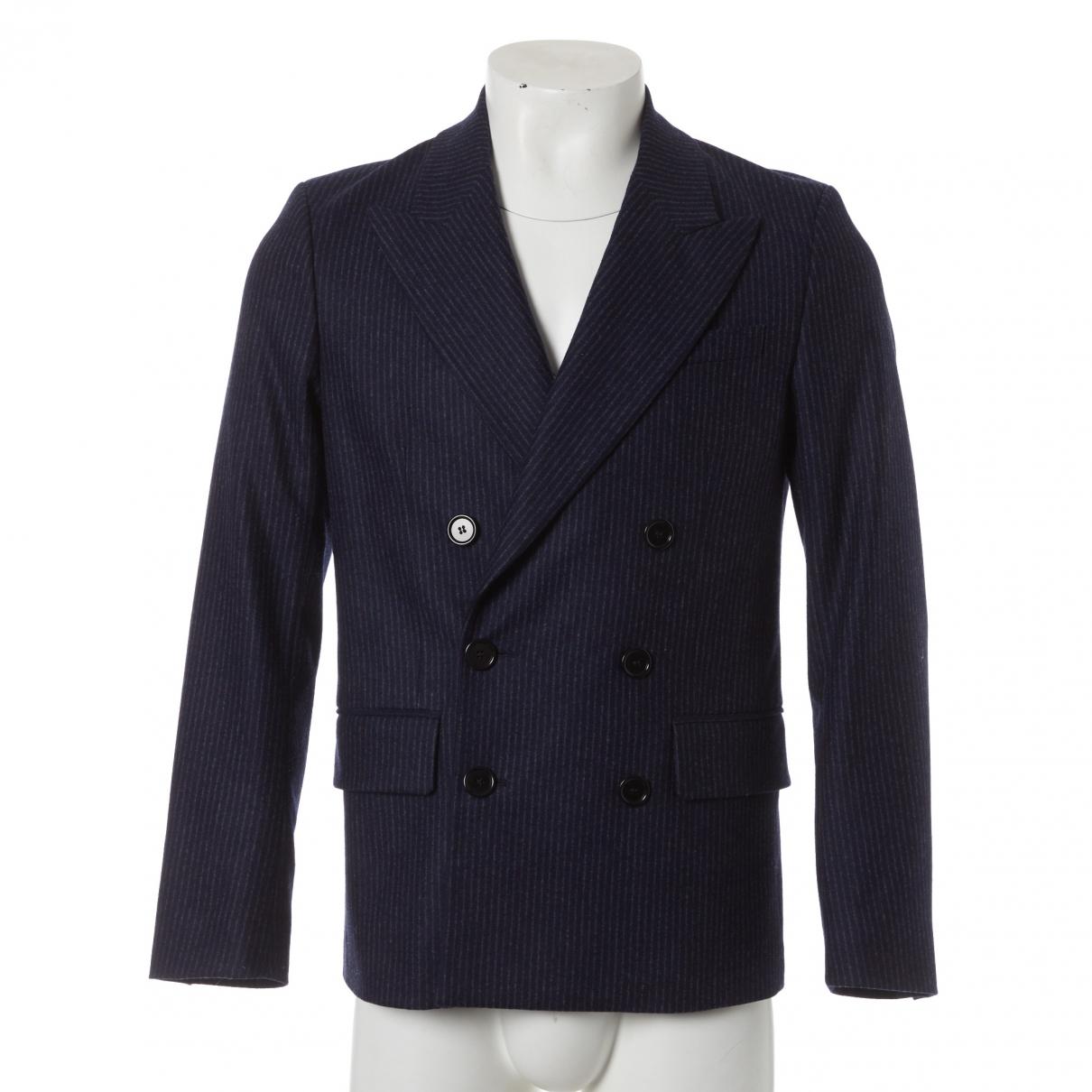 Isabel Marant \N Navy Wool jacket  for Men 46 IT