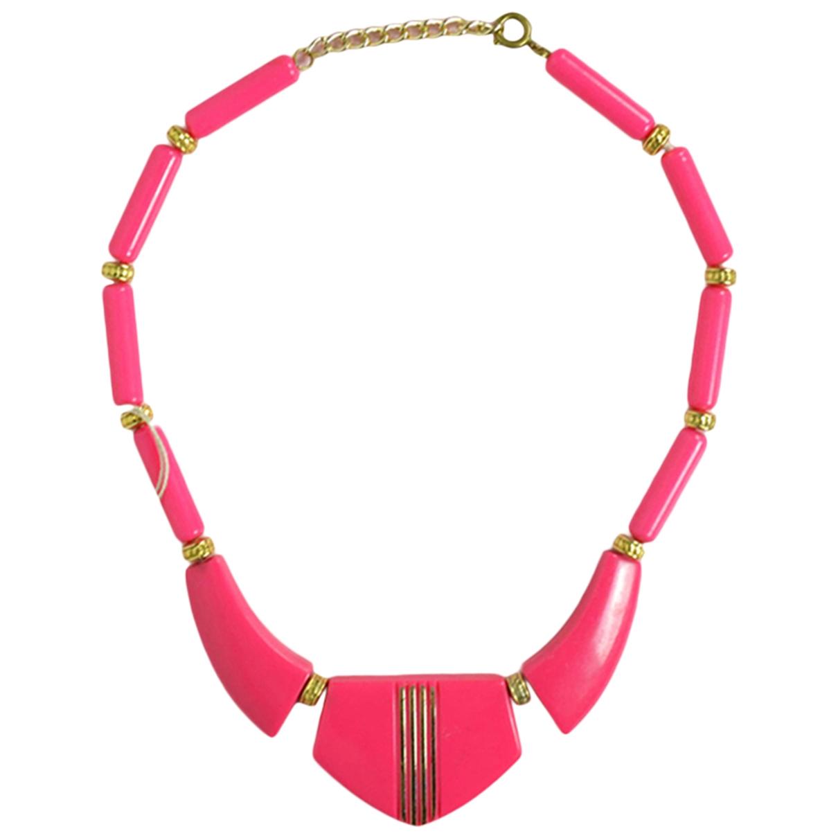 - Collier   pour femme en metal - rose