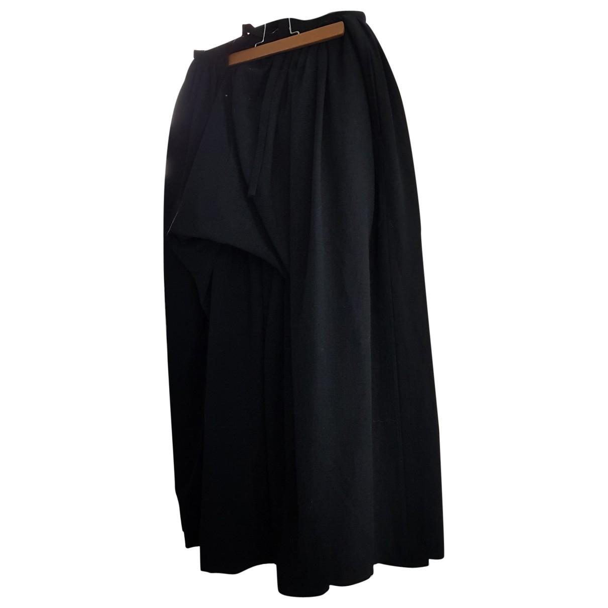 Comme Des Garcons - Jupe   pour femme en coton - noir