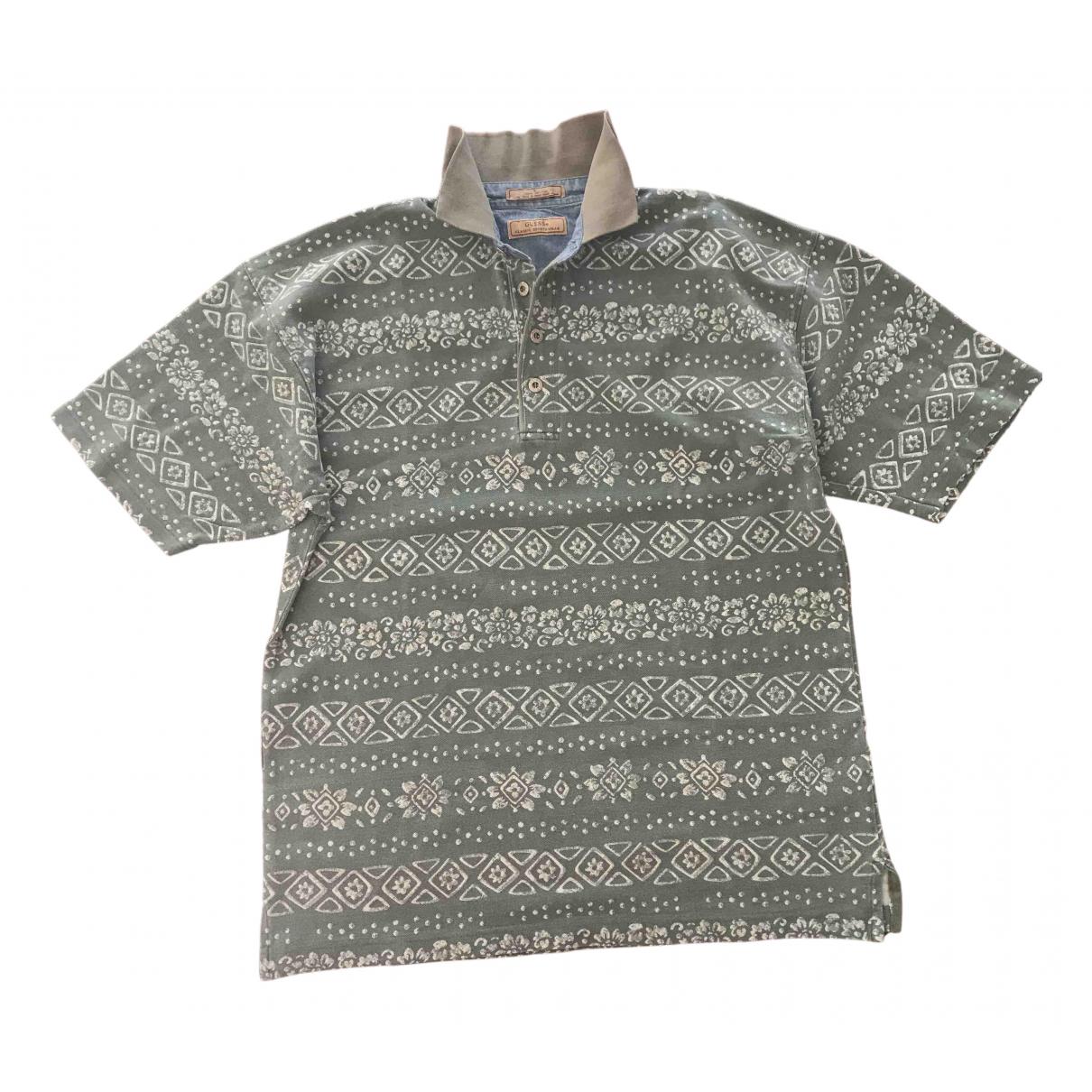 Guess \N Poloshirts in  Gruen Baumwolle