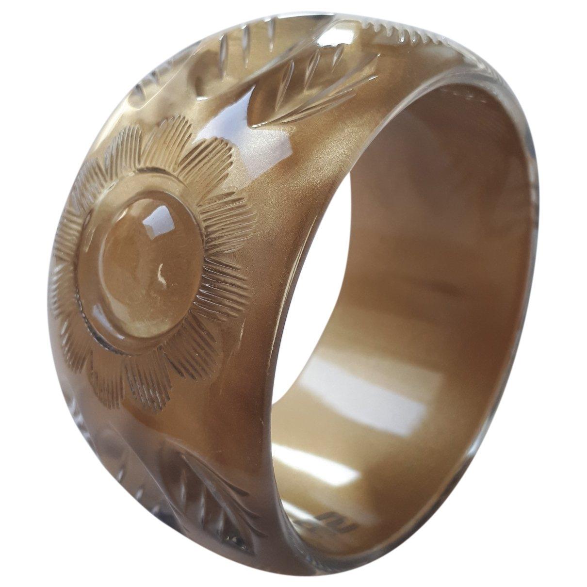 Sonia Rykiel - Bracelet   pour femme en metal - dore