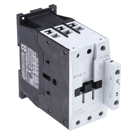 Eaton 3 Pole Contactor - 40 A, 230 V ac Coil, xStart, 3NO, 18.5 kW