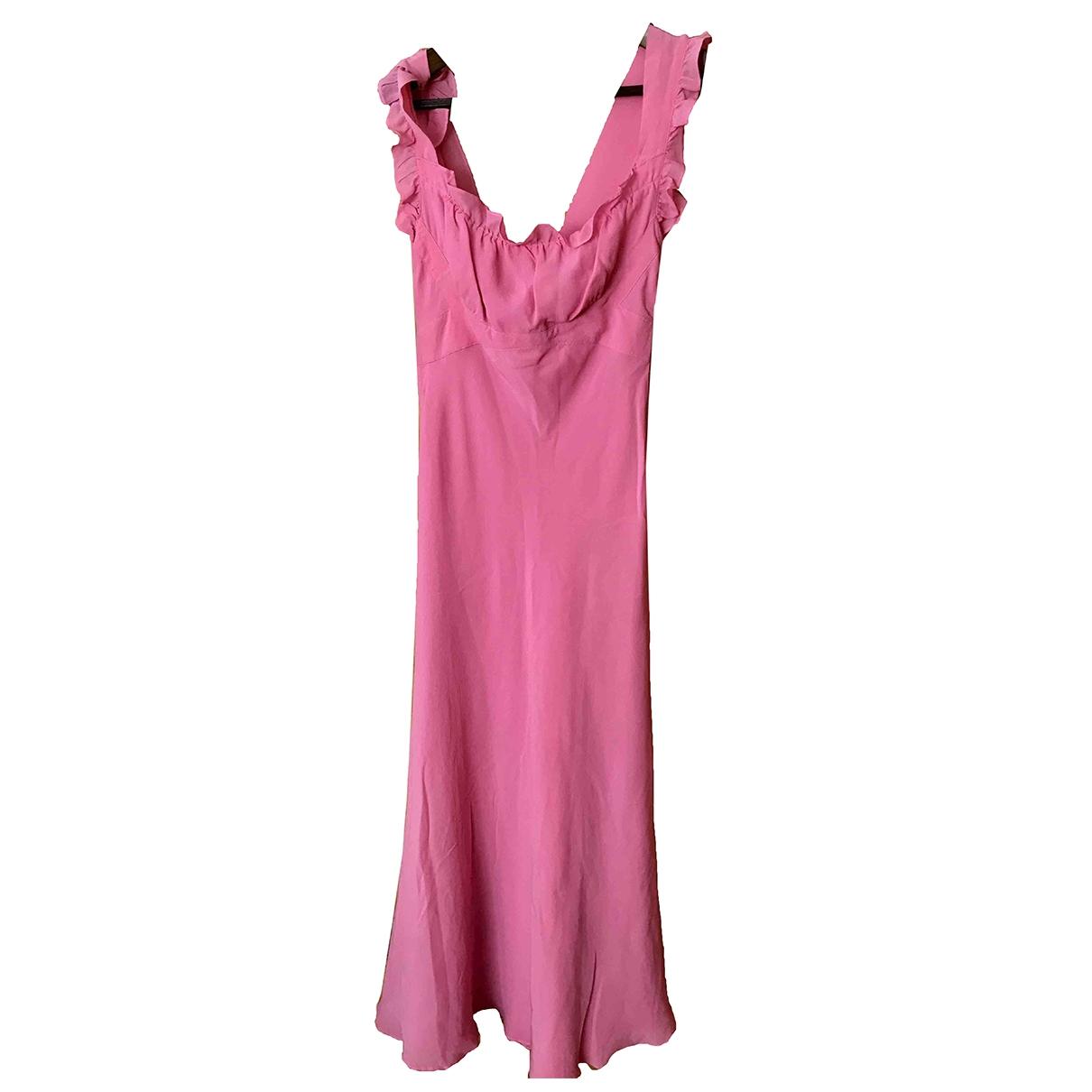 Vestido midi de Seda Moschino Cheap And Chic