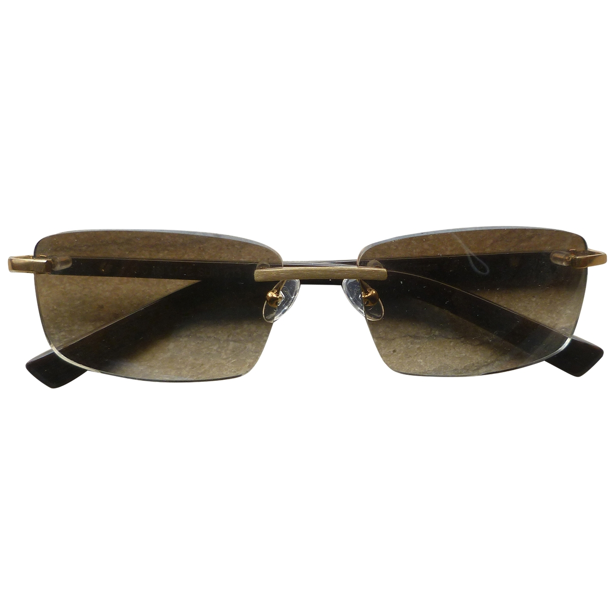 Fred \N Sonnenbrillen in  Braun Holz