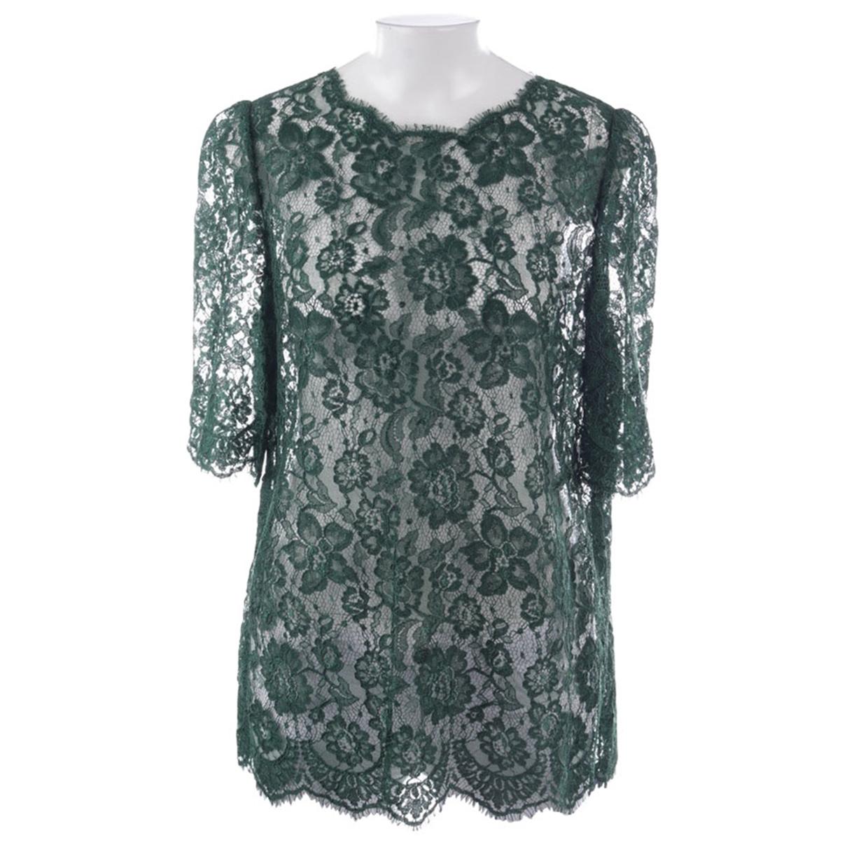 Dolce & Gabbana - Chemises   pour homme en autre - vert